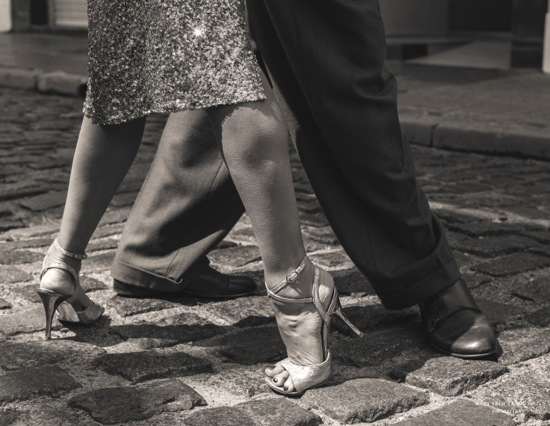 A&E Black and white feet