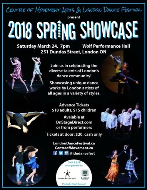 2018 spring showcase london