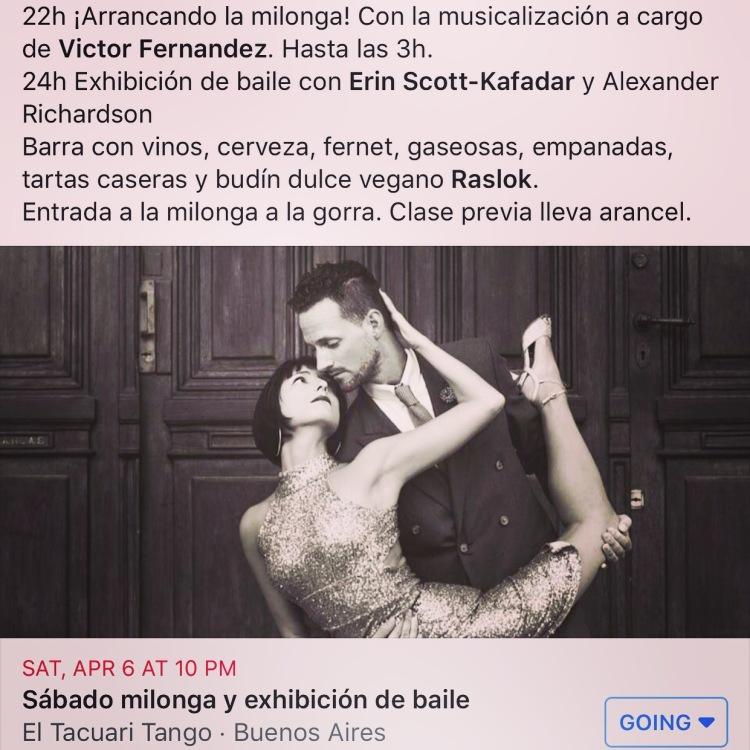 Tacuari Exibition April 6, 2019